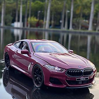 BMW M8 Alloy Model Vehicles Toy Car Model(Red)
