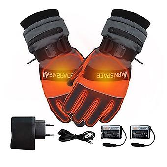 Winter Ski Outdoor Work Usb Electric Heated Hand Gloves