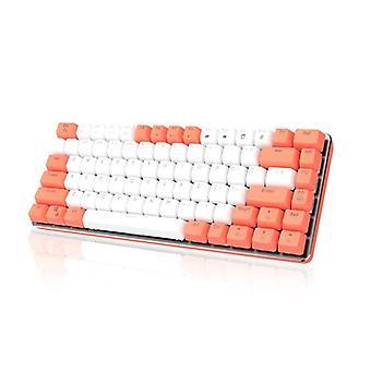 Qwert Wired 82 Klávesy Mechanická klávesnice Červená osa