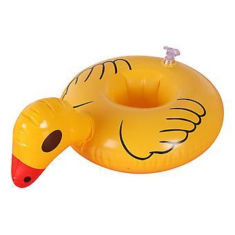 ليتل بطة صفراء نفخ حامل الشراب، وشرب يطفو أصحاب كأس نفخ لحزب حمام السباحة