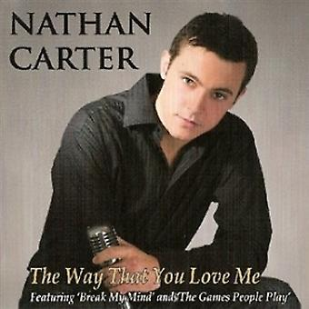 Nathan Carter do jeito que você me ama CD