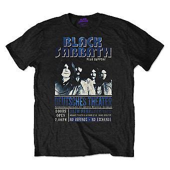 Black Sabbath Deutsches '73 Official Tee T-Shirt Unisex