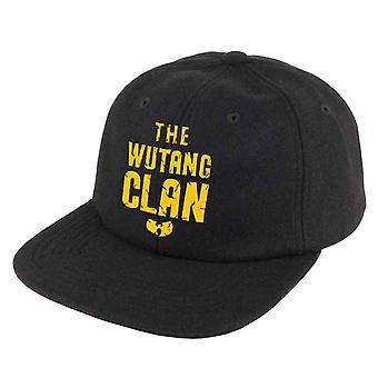 Wu Tang Clan Baseball Cap Classic Gold Logo new Official Black Snapback