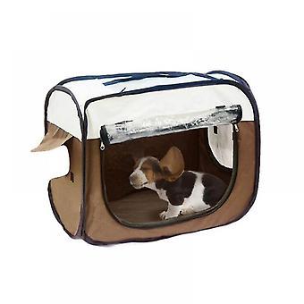 Caja de secado para mascotas plegable Habitación seca Aseo casa Baño de mascotas Secador de pelo Jaula (53cmx34cmx40cm)