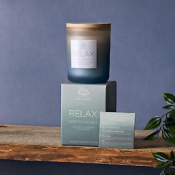 Serenity Relax 120g Vela - Rosa, Cardamon &Pink Pepper