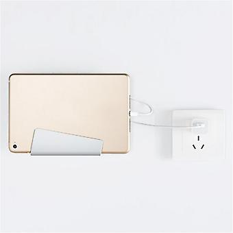Creative Wall Mount Style Paste Tyle Seamless Mobile Phone Charging Holder