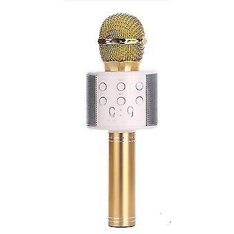 Ktv-wireless Karaoke Microphone-black(Gold)