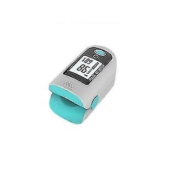Fingertip Pulse Oximeter Blood Oxygen Saturation Monitor Finger Pulse Oximeter(Blue)