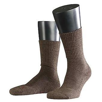 Falke Walkie Light Midcalf Socken - dunkelbraun