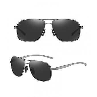 Nya metallramade mode polariserade högupplösta solglasögon för 2021