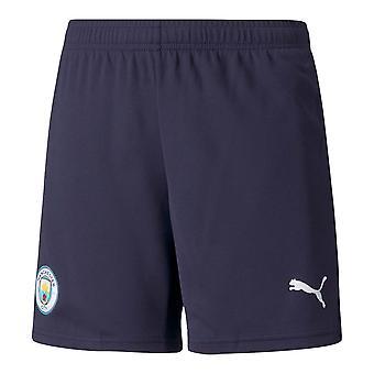 2021-2022 Man City Third Shorts (Navy) - Kids