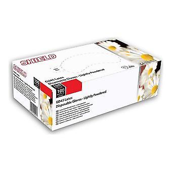 使い捨て手袋 Gd45 ホワイト XL (100 uds)