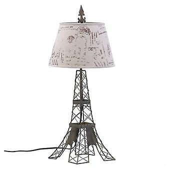 גלריה של מנורת שולחן מסגרת תיל מגדל אייפל בהירה, חבילה של 1