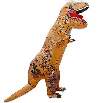 Adulte Inflatable T-rex Dinosaur Party Jumpsuit Costume Fancy Carnival Toy