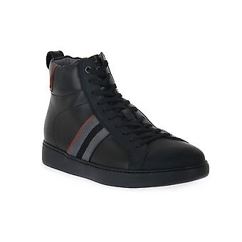 Black Gardens Rubberized Black Shoes