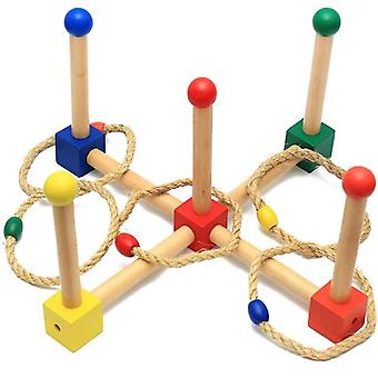 Puzzle Tossing Ring Game Set Outdoor And Indoor Sports Toys Tossing Paddok Game Juguetes|Toy Sports