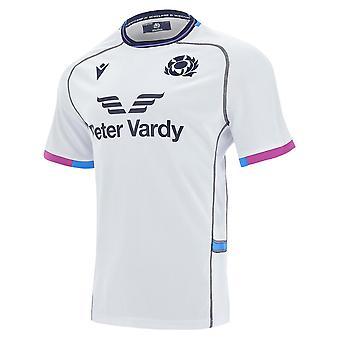 2021-2022 اسكتلندا بعيدا النسخة المتماثلة قميص الركبي