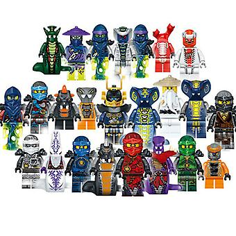 24pcs / Lot Plastique Mini Figure Phantom Ninjago Toys