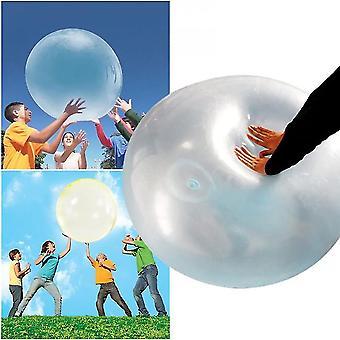 Erittäin suuri lasten ulkona pehmeä ilma kupla pallo puhallettava vesipallo pyöreä pallo läpinäkyvä kupla pallo puhallettava pallo