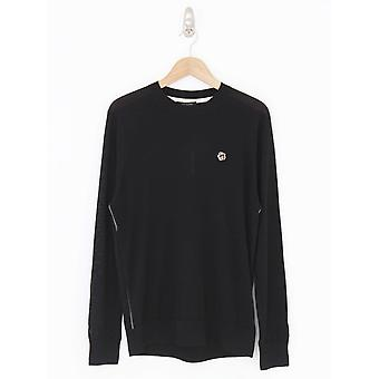 Ted Baker Cardiff Crew Neck Knit - Black