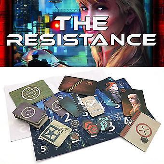 2021 The Resistance Game Version anglaise Home Party pour adultes Enfants Coup Series Jeu de société Jeux de cartes Jeux cadeaux