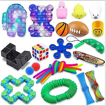 Sensory Decompression Toy Set Puzzle Diy Combination Toys -14