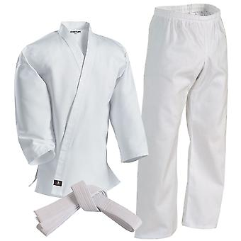 Century 6 oz. Lightweight Student Uniform with Elastic Pants - White