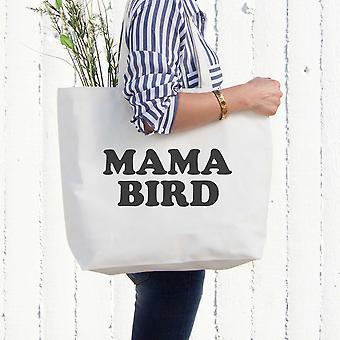 Mãe pássaro Canvas Bag Mercearia fralda livro sacos presentes para mãe presente do dia de mães