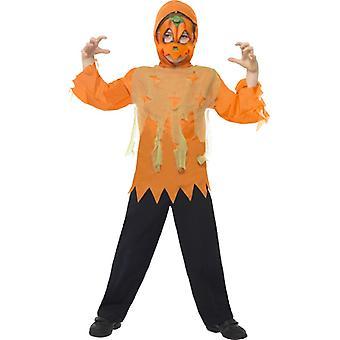 Pumpa Monster omedelbart Kit innehåller mask och mantel