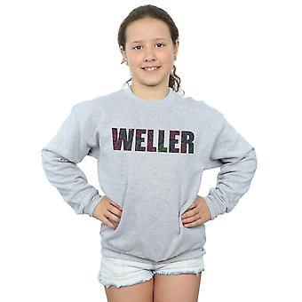 Paul Weller Girls Paisley Logo 2 Sweatshirt