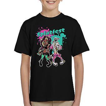 Splatoon Splatfest Kid'apos;s T-Shirt