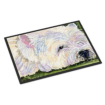 Carolines Treasures  SS8831MAT Westie Indoor Outdoor Mat 18x27 Doormat