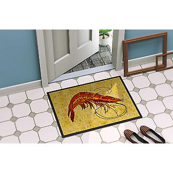 Carolines Treasures  8126-MAT Shrimp  Indoor or Outdoor Mat 18x27 8126 Doormat