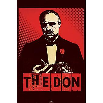 The Godfather - The Don Poster Poster Print