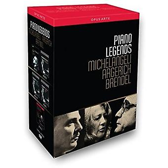 Piano Legends - Michelangeli Argerich & Brendel [DVD] USA import