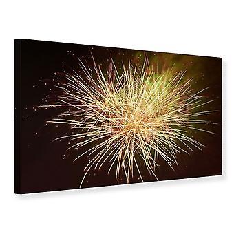 Canvas Print Fireworks XXL