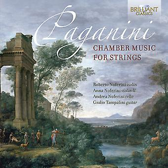 Paganini / Noferini / Tampalini - Paganini: Chamber Music for Strings [CD] USA import