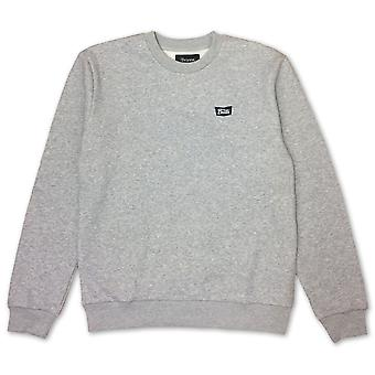Brixton Stith Sweatshirt Heather Grey