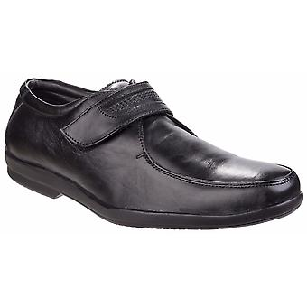 Fleet & Foster Mens Jim Touch Fastening Apron Toe Shoes