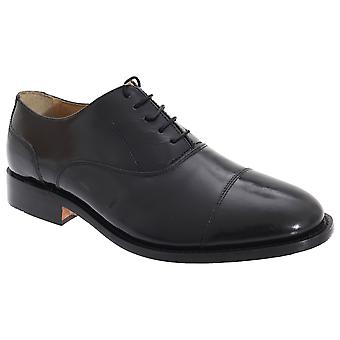 Kensington Classics Mens Premium Argentinian All Leather Capped Oxford Shoes