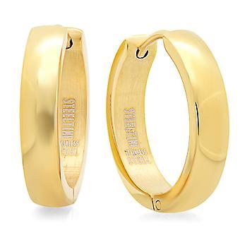 18Kt Gold Plated Hoop Earrings