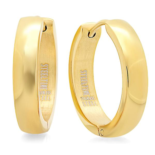 18Kt Gold Plated Hoop Earrings