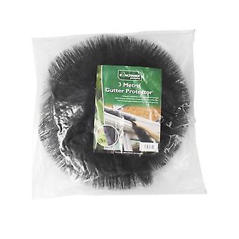 3m Gutter Protector Rigid Nylon Bristles Prevent Clogs Blockages Winter Pipe