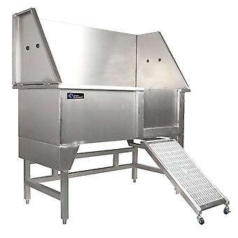 Groom Professional Supreme Stainless Steel Bath With Ramp