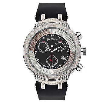 Joe Rodeo diamond men's watch - MASTER silver 2.2 ctw