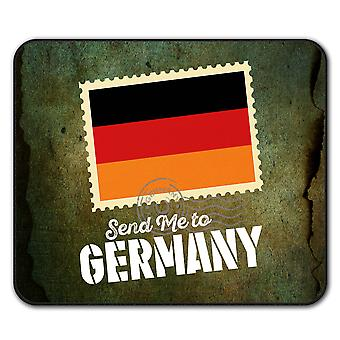 Tyskland tur flagg sklisikre musematte Pad 24 cm x 20 cm | Wellcoda