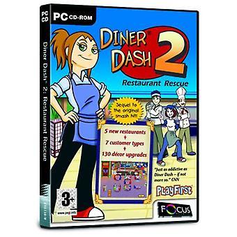 Diner Dash 2 (PC CD)-nytt