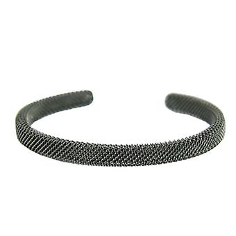 Skagen ladies Bangle Bracelet mesh black JCSM020S