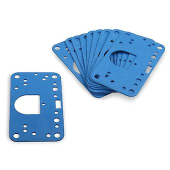 Holley 1008-1907-1 Blue Non-Stick Metering Block Gasket - Pack of 10