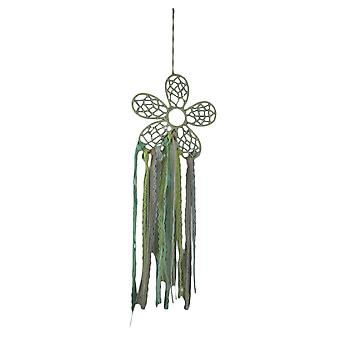Retro Boho blonder Fringe Hippie blomst Dream Catcher